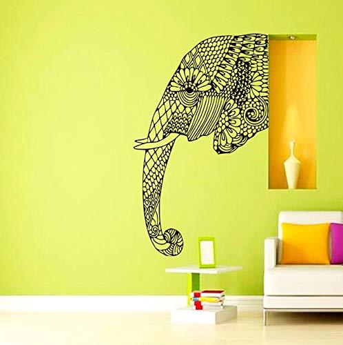 Dalxsh Venta Caliente Belleza Tribales Bohemios Elefantes Arte Principal Pegatinas De Pared...
