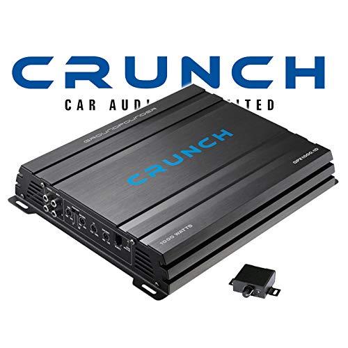 Crunch GPX1000.1D - Digitale Monoblock Endstufe
