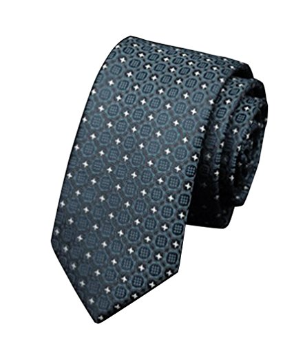 NiSeng Cravate Homme Mariage Jacquard Accessoire Cravates Élegante Cravate de Soirée Chemise Slim Neck Tie pour Business Multi Patterned