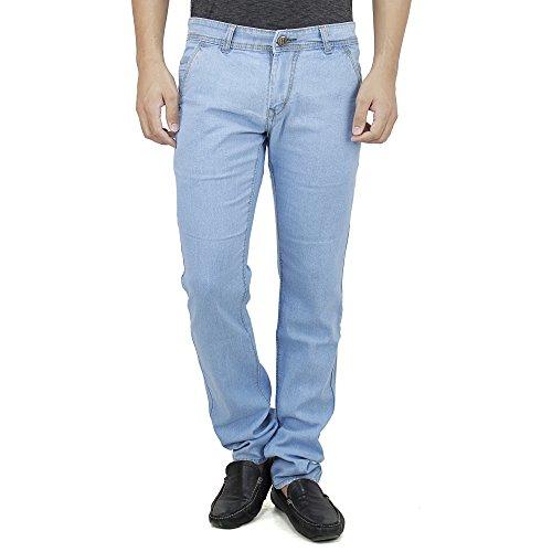 SAVON-Mens-Slim-Fit-Stretch-Trouser-Shape-Blue-Denim-Jeans-For-Men-Light-Comfortable-Fabric