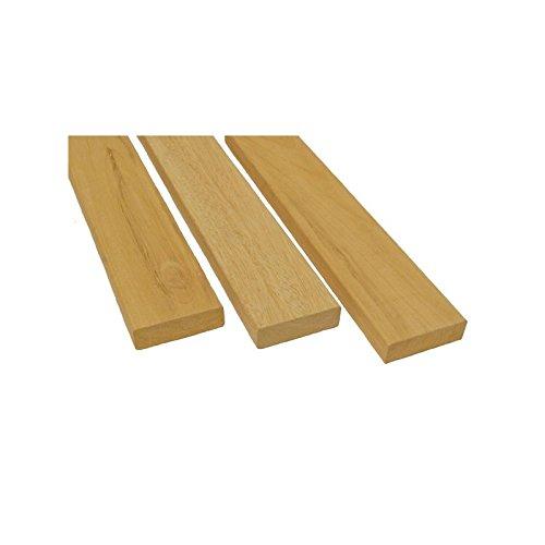 Preisvergleich Produktbild Abachi Banklatten B 25 x 80 - 2400 mm