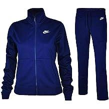 cdda928389 Nike W NSW TRK PK Oh, Tuta Donna, Blue Void/White, L