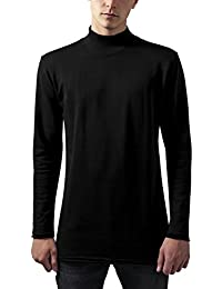 Urban Classics Long Open Edge Turtleneck Crew, Sudadera para Hombre