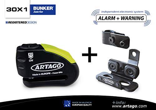 Artago 30X1 Candado Antirrobo Disco Con Alarma 120Db