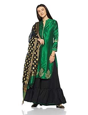 f40efa993 BIBA Women s Straight Salwar Suit Set