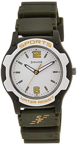 417JcHoTDqL - Sonata NF7921PP15J Silver Mens watch