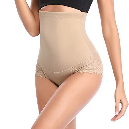 Panty Girdle (Joyshaper Hoher Taille Shapewear für Frauen Bauchkontrolle, Netzstoff, Slimming Panty Girdle - - X-Groß)