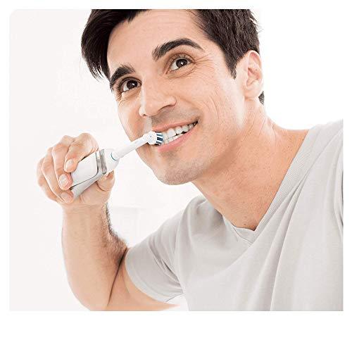 Oral-B SmartSeries 6000 elektrische Zahnbürste, mit Timer und vier Aufsteckbürsten, weiß - 7
