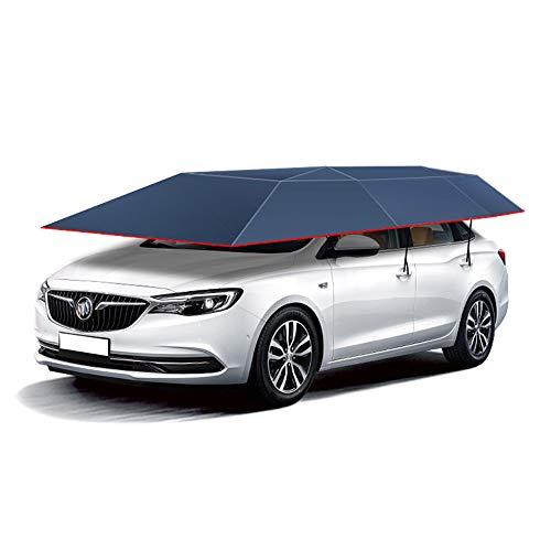 ZL Auto-Markise Intelligenter mobiler Auto-Regenschirm-automatische Fernbedienung UV 4.6M * 2.3M