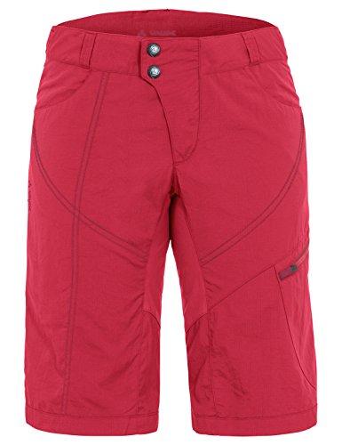 Vaude Damen Women\'s Tamaro Shorts Hose, Strawberry, 38