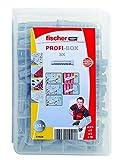 Fischer 518524 Meister-Box Spreizdübel SX, Dübelset, 132 Teile