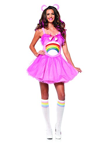 Care Bear Cheer Bear Adult Costume (Party Bears Supplies Care)