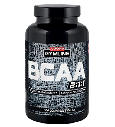 Enervit GY MLine Muscle BCAA 95{033430983e49be1fcd05d393c3c8a5f8645e347362a545ce235a368b2be8207e} Integratore Alimentare per lo Sport - 300 Capsule