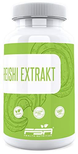 150 Mg 30 Kapseln (Reishi Vital Pilz 90 Kapseln, 500 mg Extrakt davon 150 mg bioaktive Polysaccharide (30%) je veganer Kapsel - von der Profisport-Marke FSA Nutrition, Hergestellt in Deutschland)