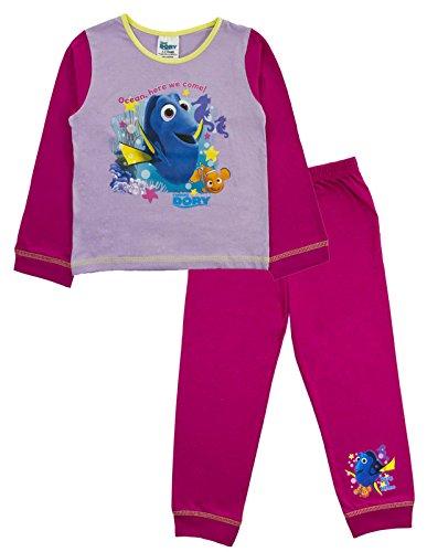 Disney Finding Dory Nemo Pyjamas 2 Piece Long Character PJS Girls Kids Size UK 1-5 Years