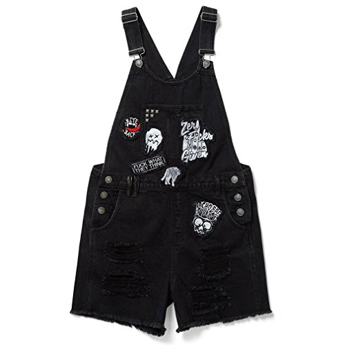 Killstar Denim Latzhose - Jinx Cursed Cutie S