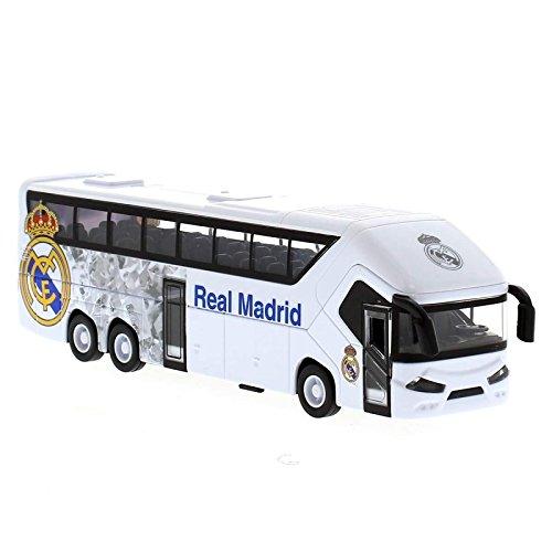 Replica Bus Metallic 20 cm mit Öffnungen von Türen von Real Madrid (Kleinkinder Rugby-shirts)