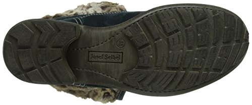 Josef Seibel Sandra 04 Damen Combat Boots Blau (923 aqua)
