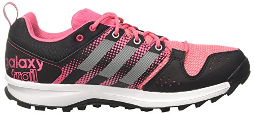 adidas Galaxy Trail W, Chaussures de Running Entrainement Mixte Adulte Rose - Rosa (Rosbah / Ftwbla / Rosray)