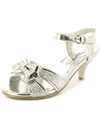 Platino - Zapatos con tacón chica