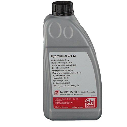 Febi Bilstein 02615Fluide hydraulique ZHM (Jaune) 1litre pas cher