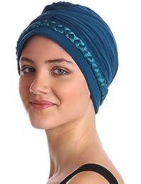 Tressé turban pour, chimo, la perte de cheveux