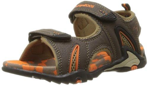 Kangaroos Sinclair 2, Sandales mixte enfant Marron (370 Dk Brown Orange)