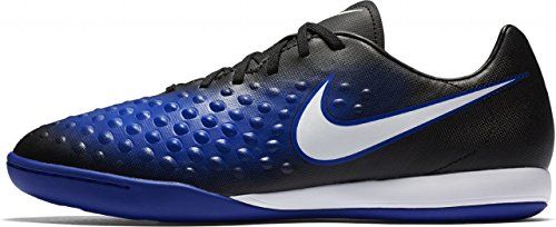 Nike Herren 844413-015 Hallenfußballschuhe Blau (Black/Paramount Blue/Blue Tint/White)