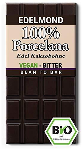 Edelmond 100% Porcelana. Die seltene Criollo Bohne reinerbig aus der original Herkunft. (75 GR) - Plantagen Dunkle Schokolade