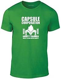 Brand88, Capsule Corporation, Erwachsene Mode T-Shirt