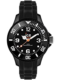 Ice-Watch - ICE forever Black - Schwarze Herrenuhr mit Silikonarmband - 000123 (Small)