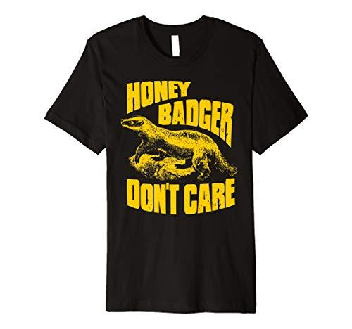 Ripple Junction Honey Badger Don't Care Illustration - Klassisches Schwarz-junction