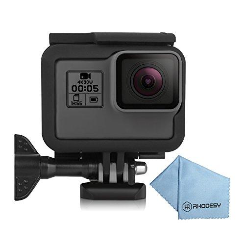 Galleria fotografica Rhodesy Telaio Protettivo Standard Include Chiusura Rapida per Gopro Hero 6 Hero 5 Action Camera