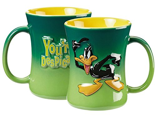 looney-tunes-relief-tasse-400ml-daffy-duck-german-version
