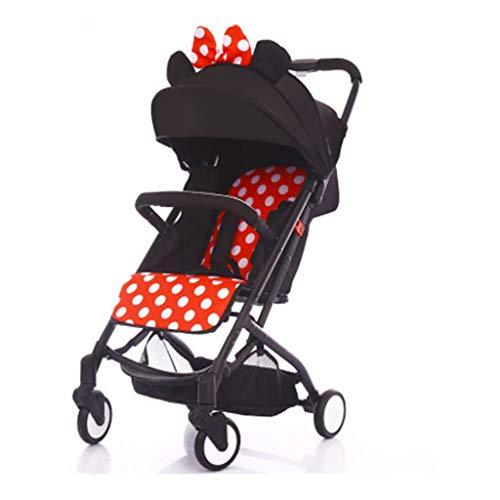 HUNYUAN-LF Cochecito for niños, Ultra Ligero Paraguas Plegable portátil del niño del bebé...