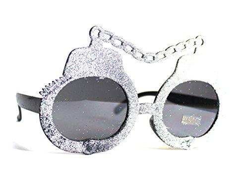 50er 60er Jahre Retro Vintage Sonnenbrille Sommerbrille Clubmaster Style Rockabilly Trend 2017 2018 Mode Fashion Fashionbrille Beach Club Designer Brille handschellen silber