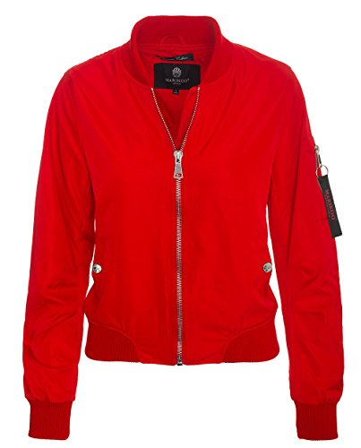 Esthetique Collections Nadine Marikoo Teddy Uni Rouge Femme Blouson SY4nT