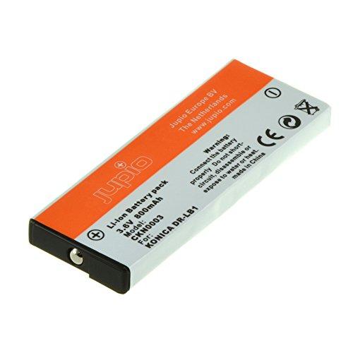 Jupio CKN0003 - Batería para cámara de fotos equivalente a Konica DR-LB1 (lithium ion, 1000 mAh)