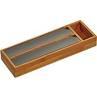 Kesper 58040 Folienspender für die Schublade, Bambus, braun, 39.5 x 5.5 x 13 cm