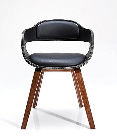 Kare design - Chaise costa walnut