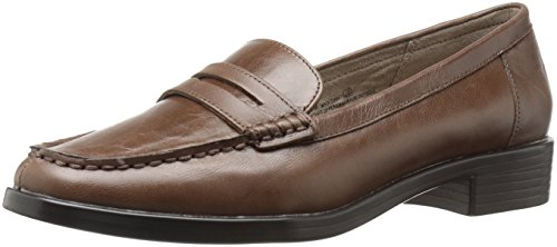Aerosoles Women's Main Dish Penny Loafer, Taupe Leather, 9 M US -