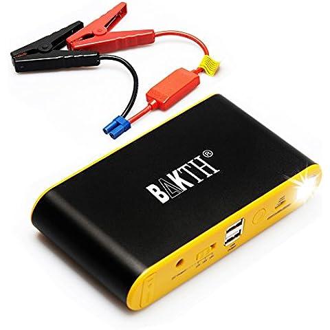 BAKTH AUTO EPS Mini Multi-Function auto portatile salto caricabatteria Starter 12900mAh emergenza Inizio Banca di potere esterno con la torcia elettrica del LED per l