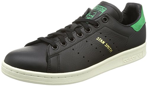 adidas Herren Stan Smith Sneaker, Schwarz (Core Black/Green), 38 2/3 EU (Smith Comfort Stan)