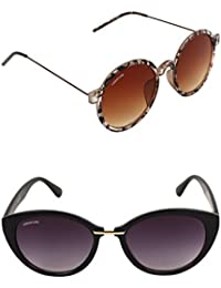 a37a3f7eb63 CREATURE UV Protection Cat-Eye Women s Sunglasses Combo (TIDE-001-MIMT-