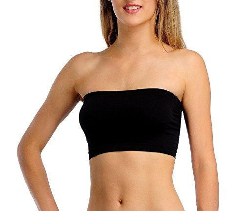 CuteCare-Non-Padded-Non-Wired-Seamless-Tube-Bra-for-Women-Size-FREE