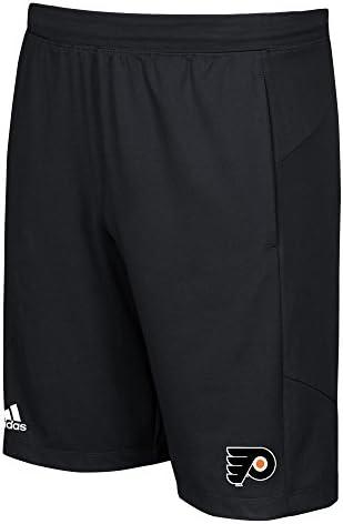 Adidas NHL Philadelphia Flyers Leg Whip 10     Knit Shorts, nero, XX-Large   Lo stile più nuovo    Ampie Varietà  b14bc0