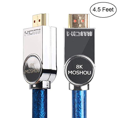 SIKAI Compatible con PS4 High Definition Multimedia Interface 2 1 Cable 8K  48Gbps 4320P UHD HDR 24AWG Compatible con Samsung QLED TV, Sony TV, Roku,