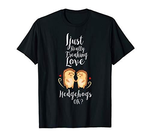 Kinder Love Hedgehogs 2 Igel Kostüm Damen Geschenk Igel T-Shirt