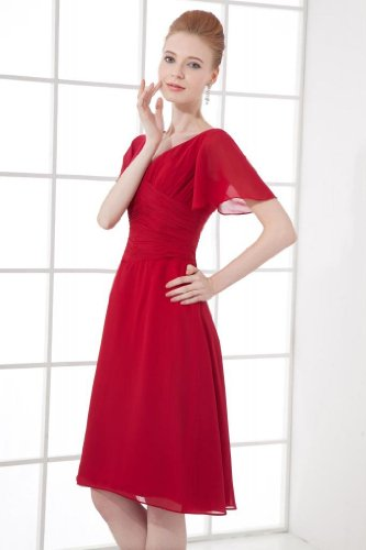 Lemandy - Robe - Femme rouge Red red