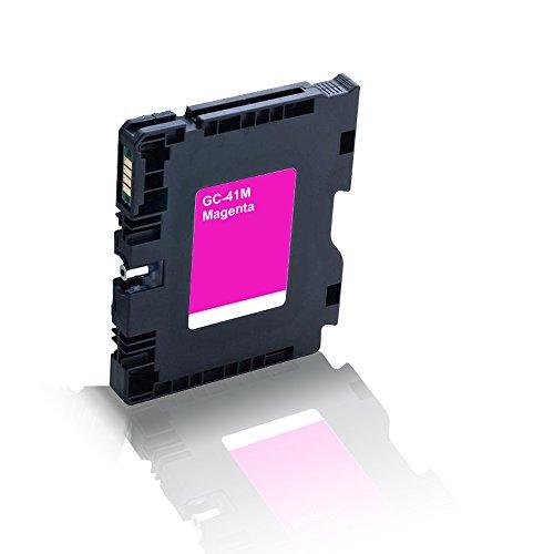 Preisvergleich Produktbild kompatible Druckerpatrone für Ricoh Aficio SG 2100 SG 2100 N SG 3100 snw SG 3110 dn SG 3110 dnw SG 3110 n SG 3110 sfnw SG 7100 dn SG-K 3100 DN Magenta Rot GC41M GC-41M